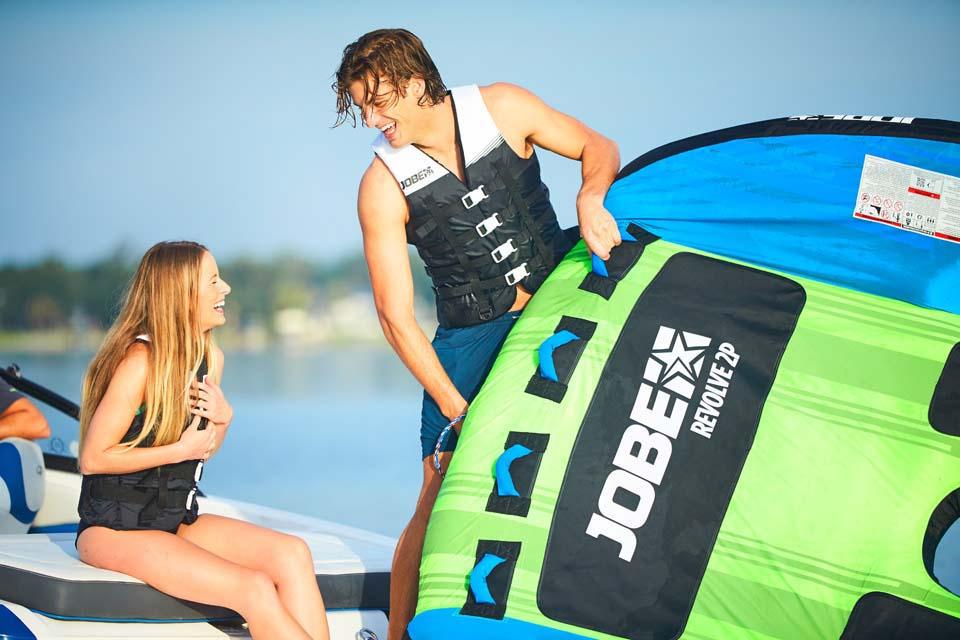 Jobe Dual Nylon Vest black Schwimmweste Bootsweste Wasserski